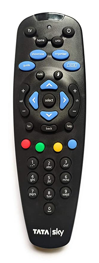 Supra TATASKY Tata Sky Digital TV HD Setup Box Universal Remote Controller Learning Capability  Remote Controls