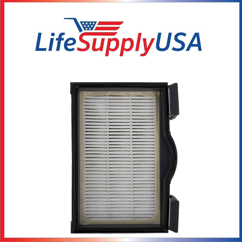 LifeSupplyUSA 5 Pack HEPA Filter for Electrolux Eureka HF8 MM Mighty Mite Banister Models