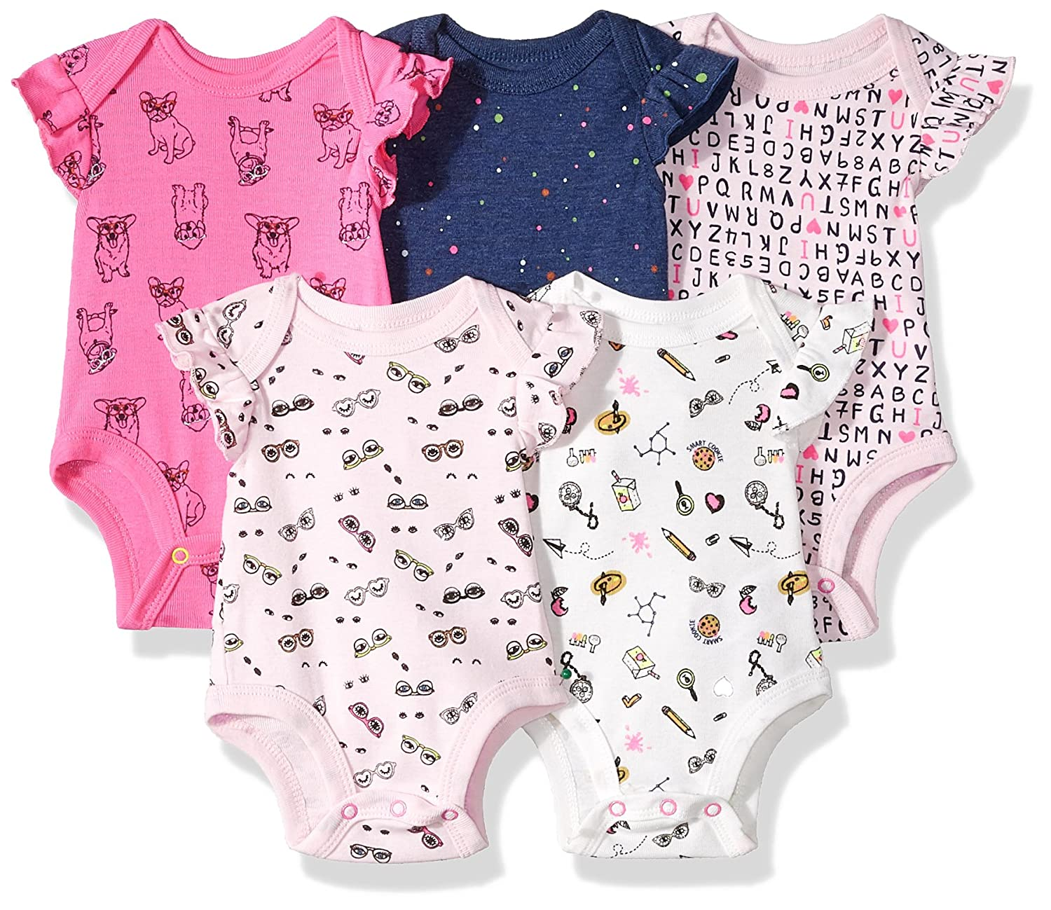 Amazon Rosie Pope Baby 5 Pack Bodysuits More Colors Available
