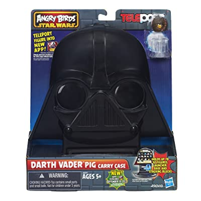 Star Wars Angry Birds Telepods Darth Vader Pig Carry Case: Toys & Games