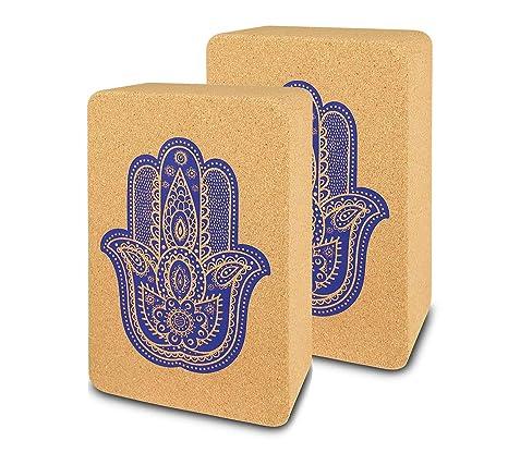 SAPURA Yogabox - Bloques de Corcho para Yoga (2 Unidades ...