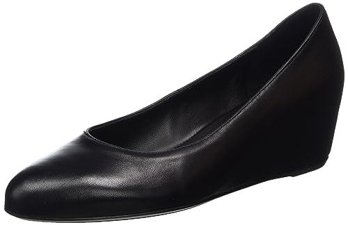 Womens Wedgerina Closed Toe Heels, Black Högl