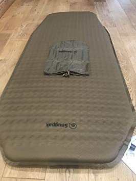 new arrival 57395 6a177 Snugpak Travelite Self Inflating Half Length Sleep Mat - Olive - One Size