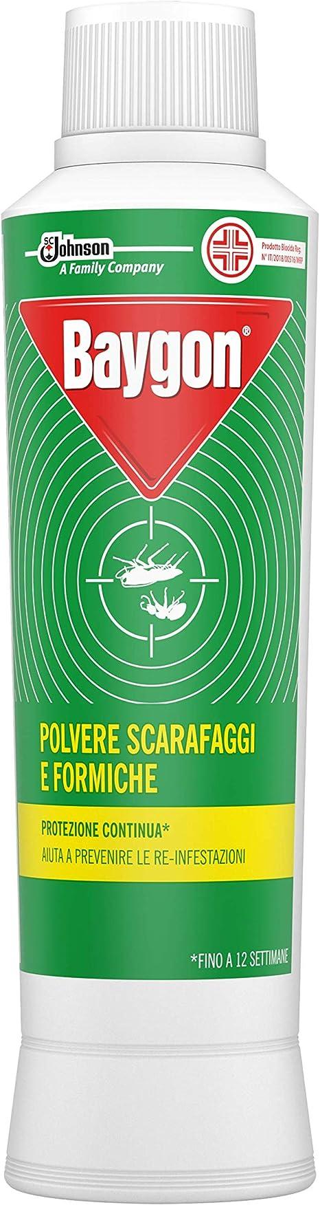 Baygon 250 gr insetticida in polvere veleno scarafaggi formiche insetti