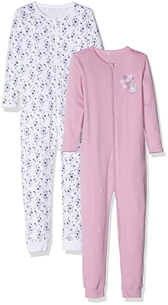 Name It Baby Girls Sleepsuit Pack of 2