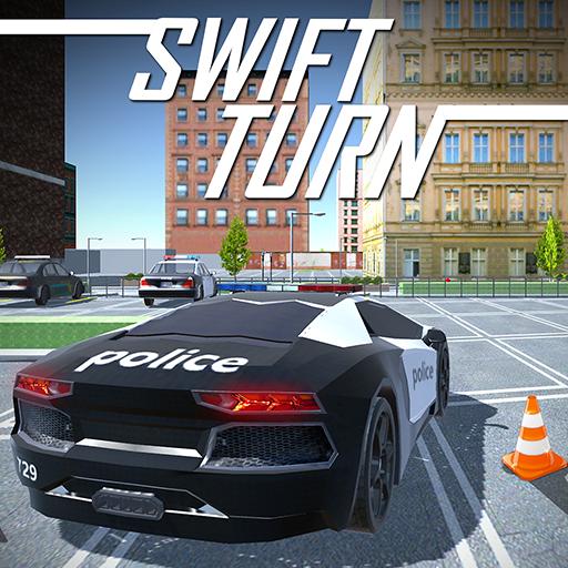 Delta Police Car Drift Drive R