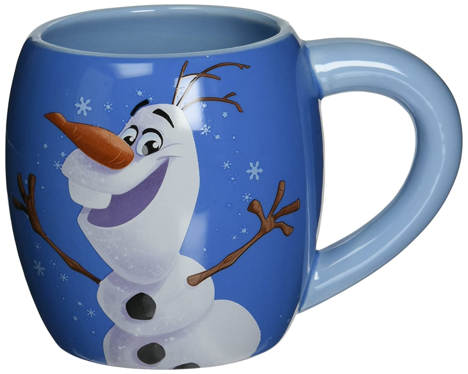 Disney Frozen TALL Ceramic Mug Cup 14 Oz  NEW