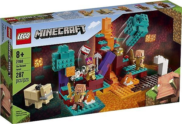 LEGO Minecraft The Warped Forest