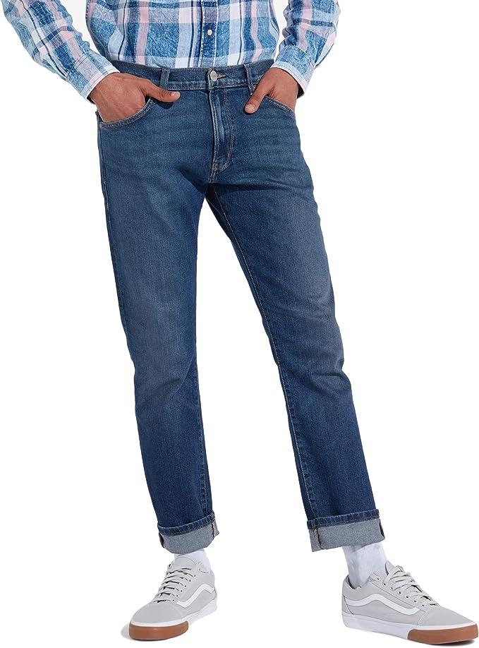 TALLA 32W / 32L. Wrangler Larston Slim Jeans Hombre