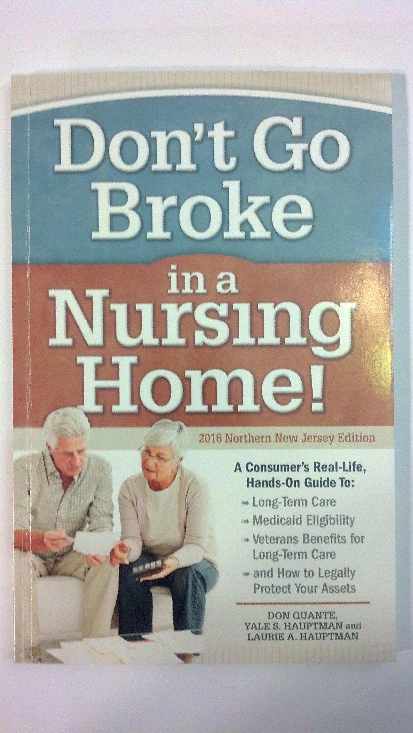 Read Online Don't Go Broke in a Nursing Home! ebook