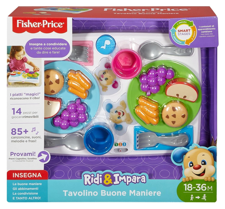 Fisher-Price fbn19/Beistelltisch der Guten Manieren