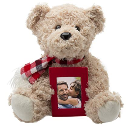 Amazoncom Neil Enterprises Inc Teddy Bear With Picture Frame