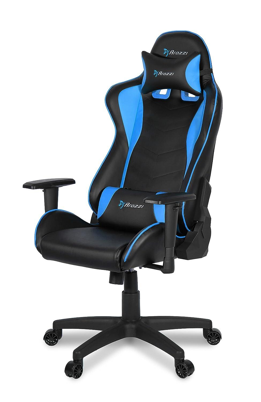Arozzi Mezzo V2 Gaming Stuhl Lederimitat Blau 53 X 50 X 137 Cm
