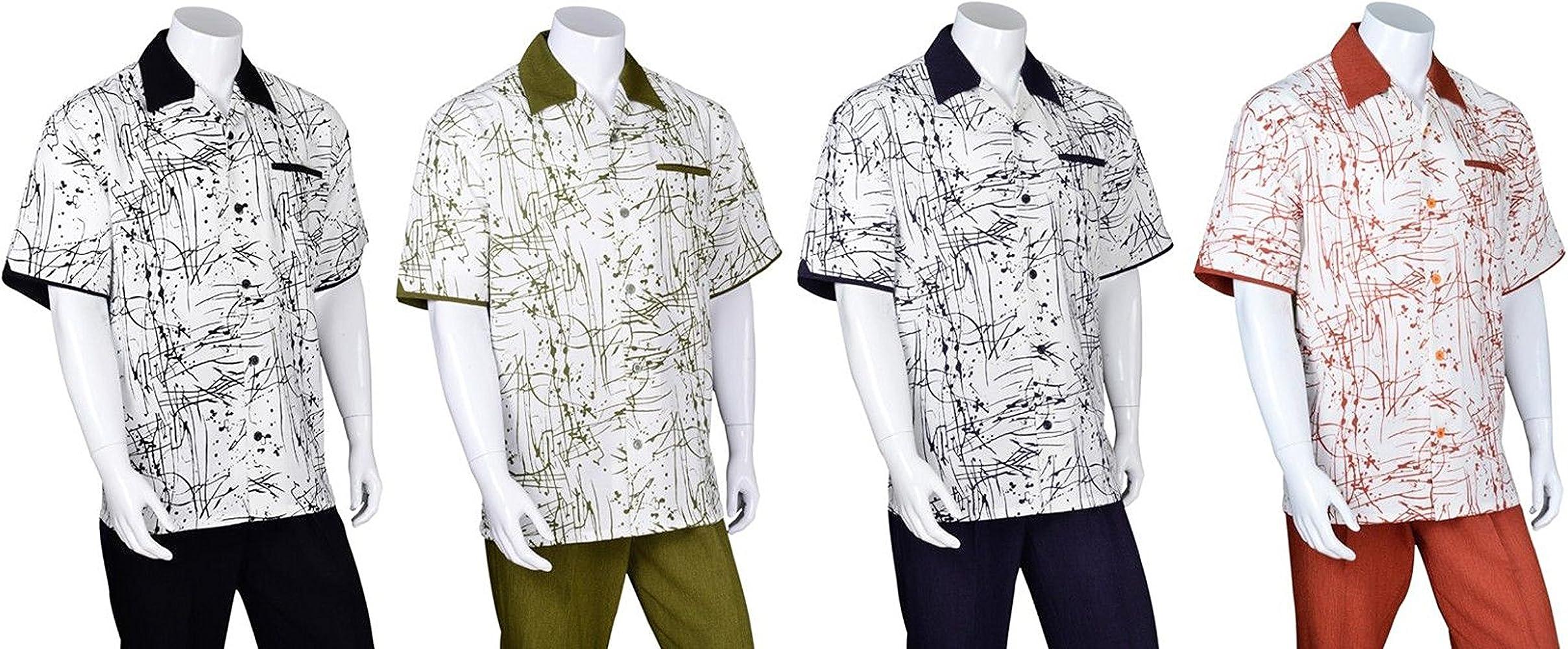 Fortino Landi Plain Walking Suits in 10 Colors M29544