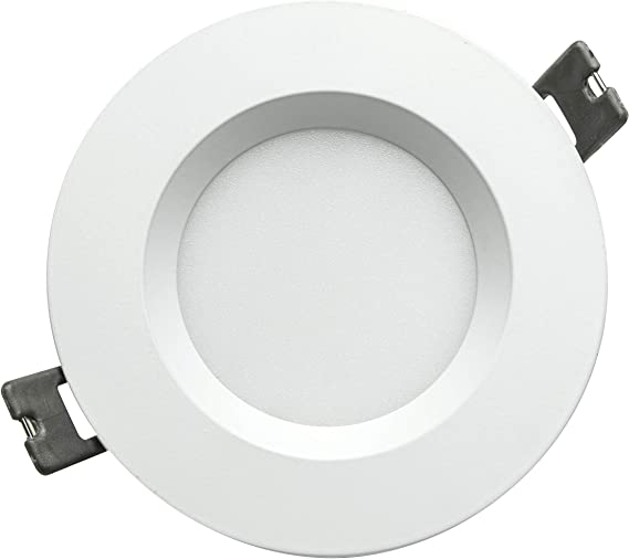 Alverlamp - Downlight LED 10W 4000K IP44 120º empotrable redondo ...