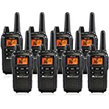 Midland LXT600VP3 36 Channel FRS Two-Way Radio Black Up to 30 Mile Range Walkie Talkie Midland Radio Corporation LXT600X6VP3 Pack of 6