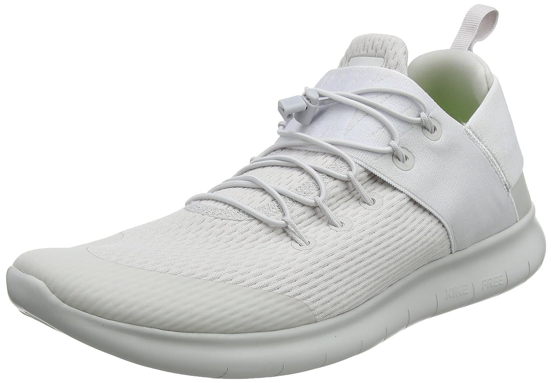 Nike Free RN Commuter 2017, Zapatillas de Running para Hombre 41 EU Gris (Gris Vasto / Blanco 009)