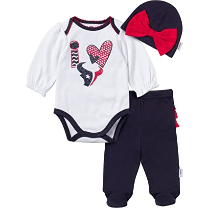 Image Unavailable. Image not available for. Color  NFL Houston Texans  Unisex-Baby Bodysuit ... 0c737333f