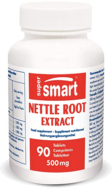 Supersmart MrSmart - Prostate, Mens Health - Nettle Root Extract - Extract of Urtica dioica
