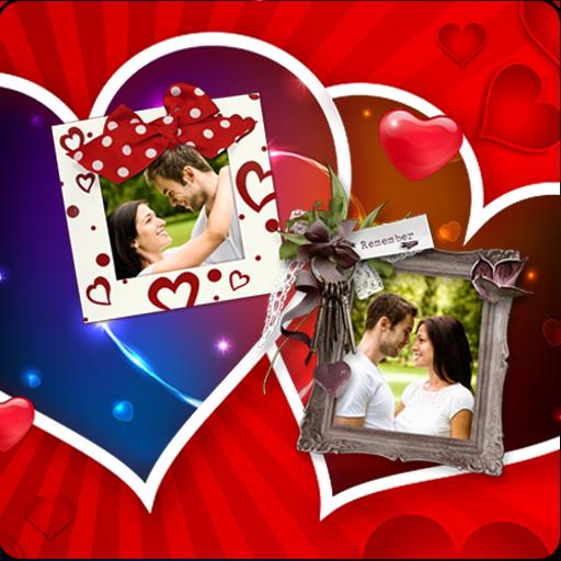 Love Photo Frame Greetings