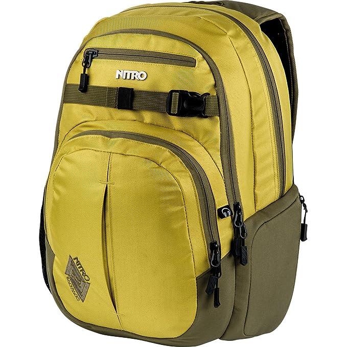 Schulrucksack Uni Freizeit Nitro Chase Laptop Rucksack Wicked Green Grün 35L NEU