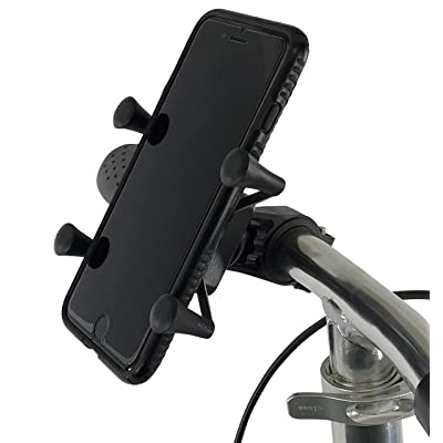 KneeRover Universal Deluxe Phone Holder Mount Designed for Knee Scooters: Health & Personal Care