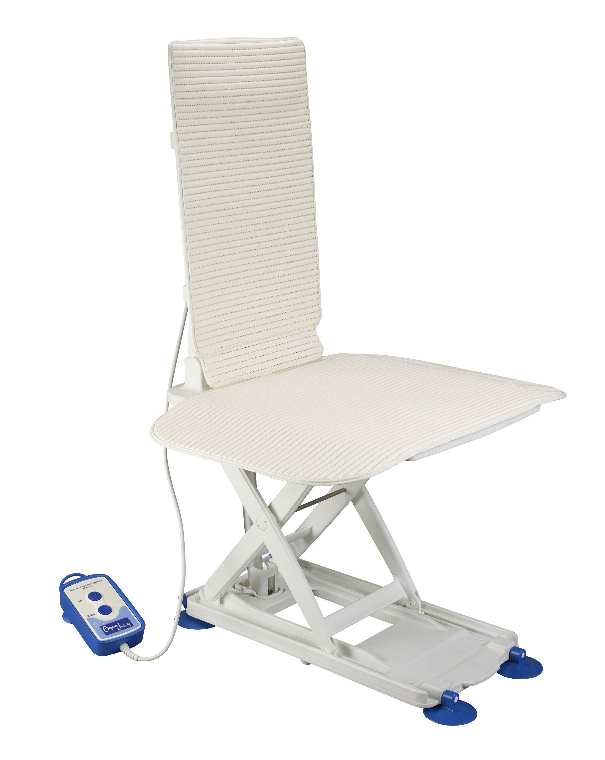 Drive Medical Aquajoy Premier Plus Reclining Bathlift, White