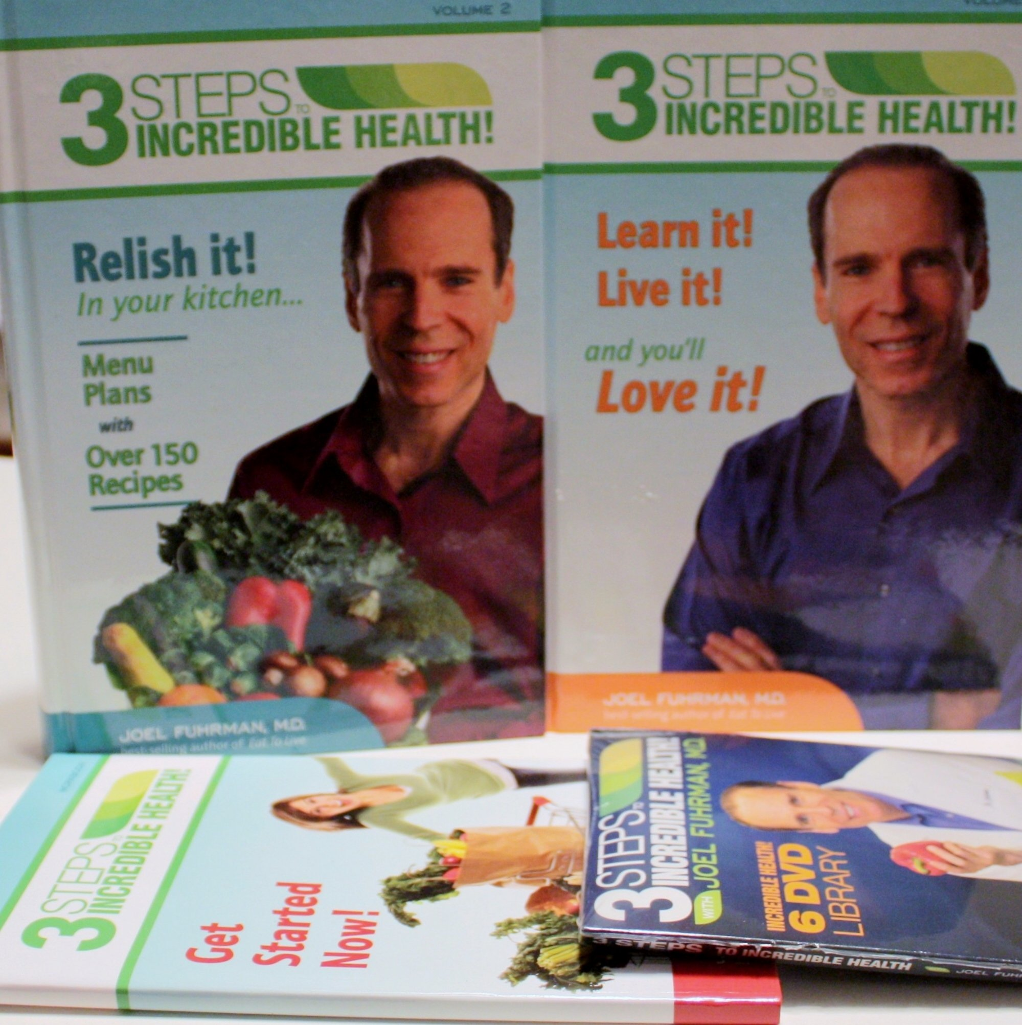 3 Steps to Incredible Health / 3 Volume Set / Volumes One, Two & Workbook PDF