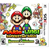 Nintendo Mario and Luigi Superstar Saga Plus Bowser's Minions - Nintendo 3DS
