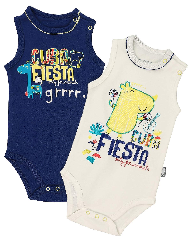 Petit B/éguin Cuba Fiesta 2 Unidades Body para beb/é