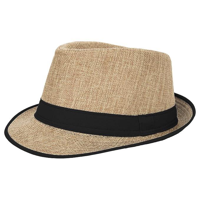 Summer Fedora Men s Women s Straw Hat 8dc583f59b9
