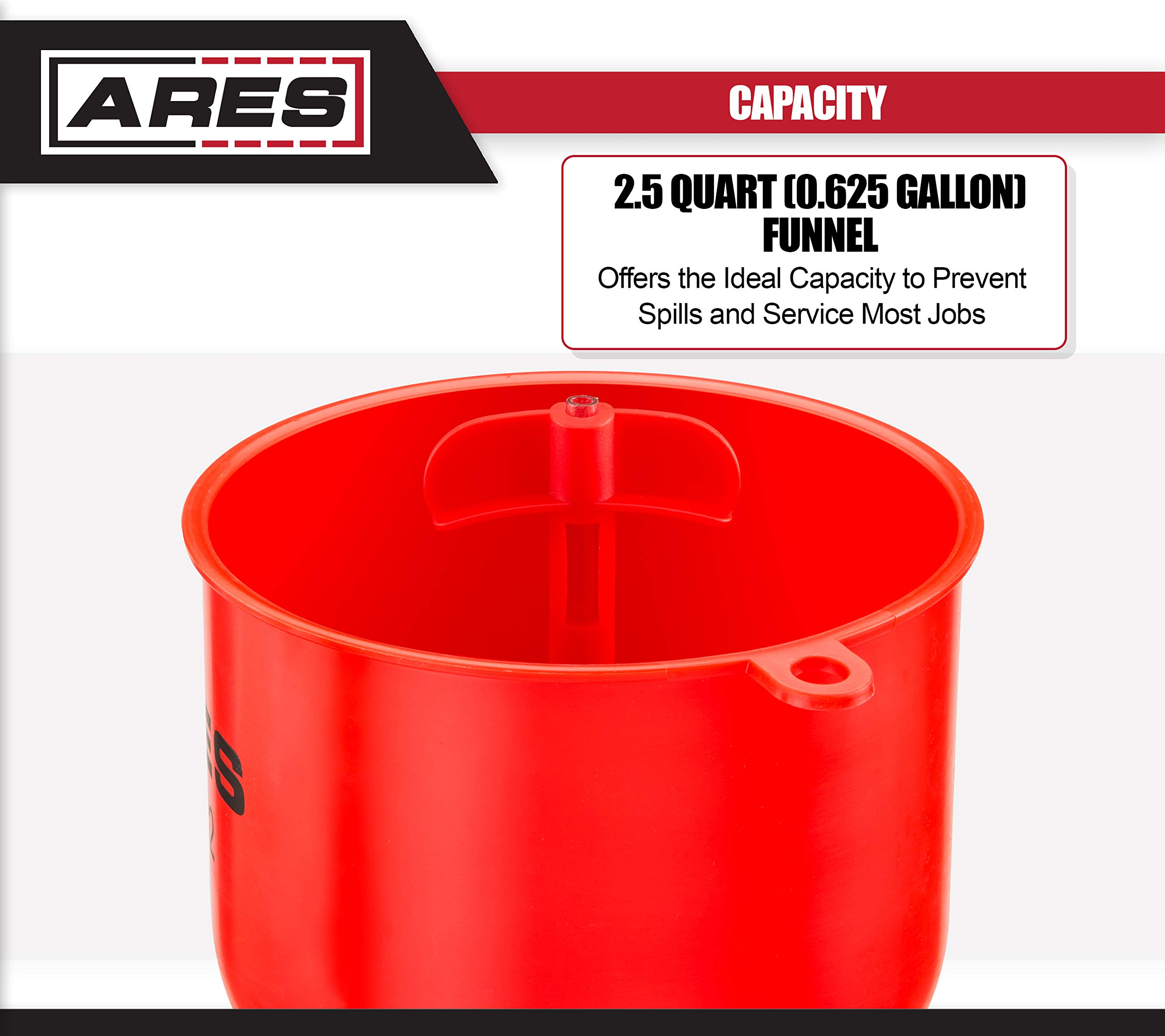 ARES 71502 | Spill Proof Coolant Filling Kit | Eliminates Trapped Air Pockets and Squeaky Belts Due to Overflow by ARES (Image #2)