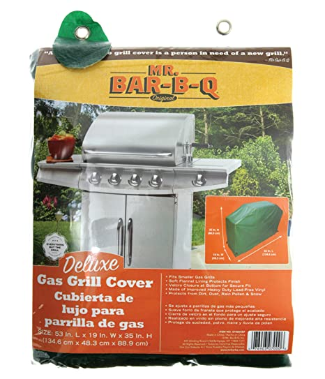 Mr. Bar-BQ 07000YEF Deluxe Gas Grill Cover, Small