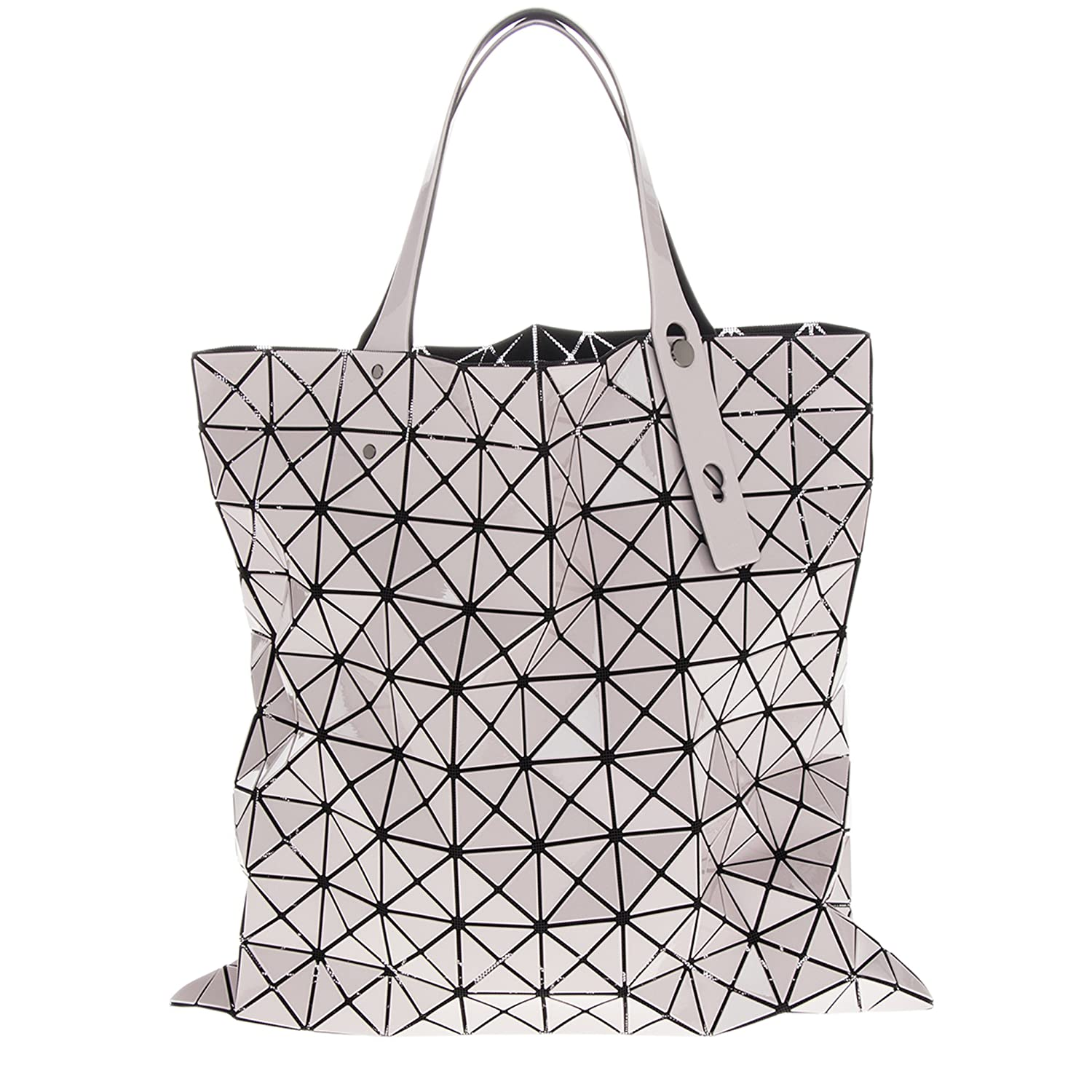 ac20c00741 Amazon.com  Bao Bao By Issey Miyake Women s Prism Gloss tote Pink  Clothing