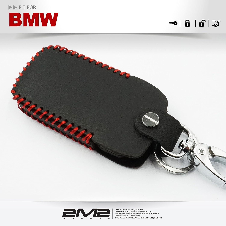 Amazon.com: 2M2 - Funda de piel para llavero BMW Serie 7 E65 ...