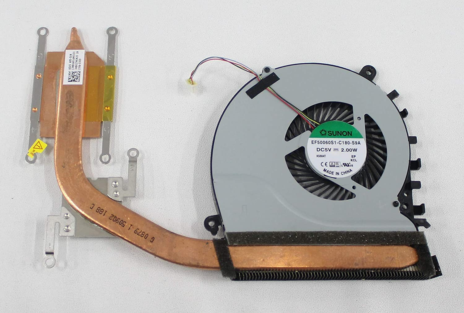 ACS COMPATIBLE with ASUS Cooling Fan with HEATSINK Thermal Module Q552UB Replacement