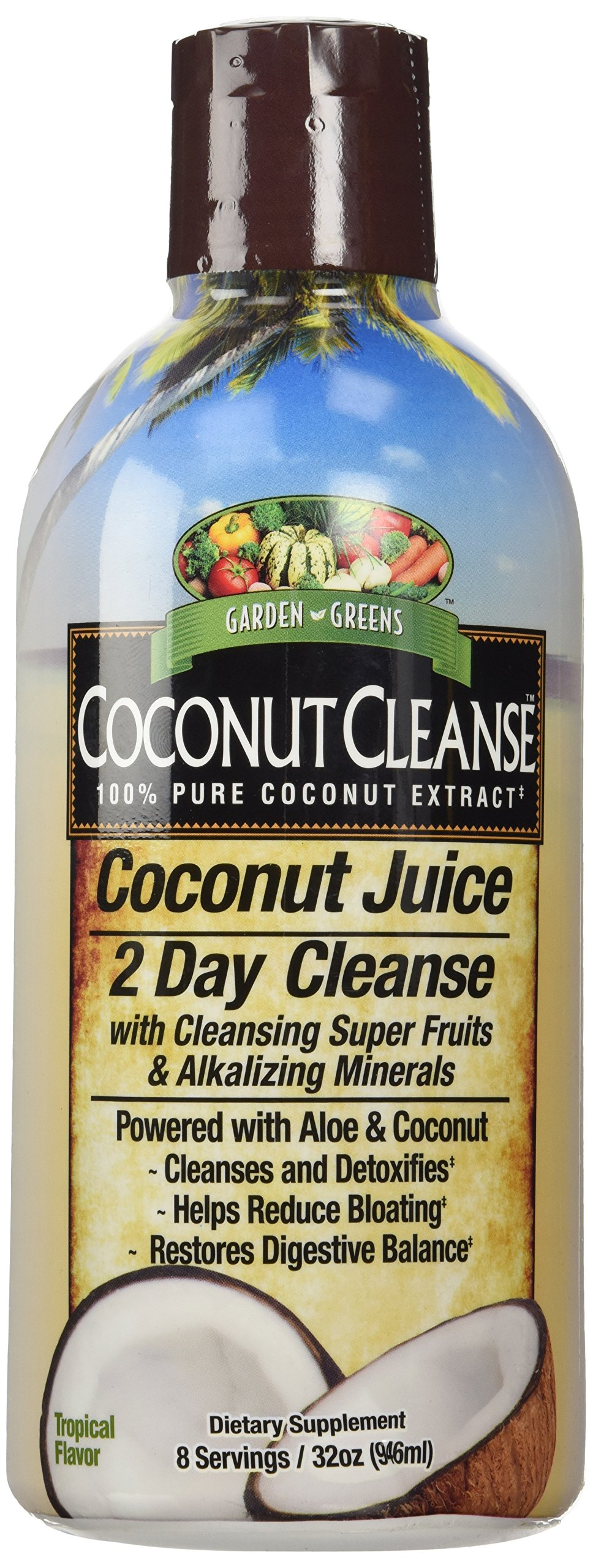Amazon.com: Garden Greens, Acai-cleanse, 947 ml: Health & Personal Care