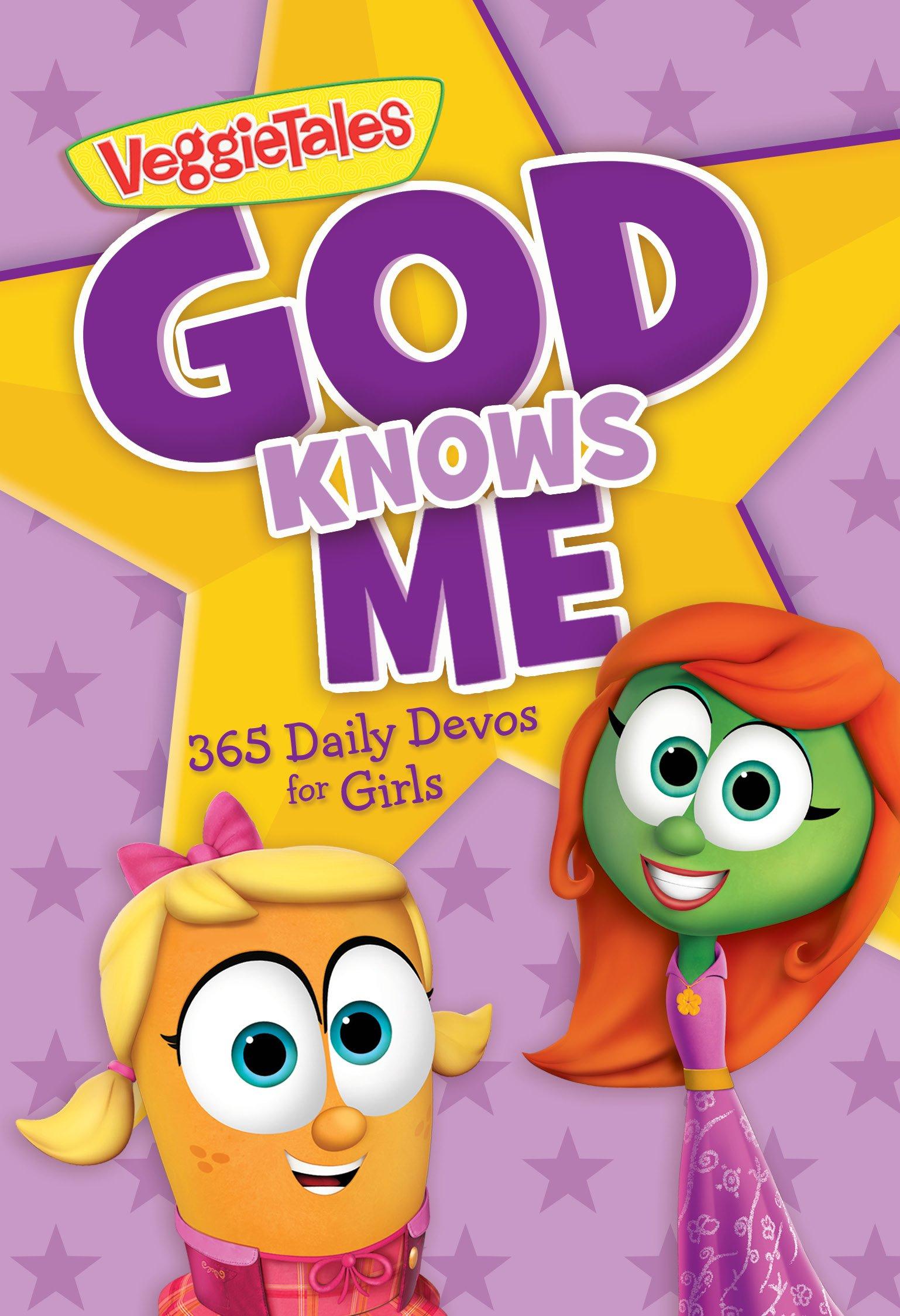 God Knows Me: 365 Daily Devos for Girls (VeggieTales) pdf