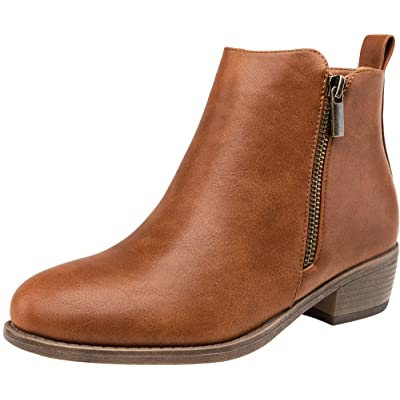 JEOSSY Women's Ankle Boots Thick Heel Low Heeled Bootie for Women | Ankle & Bootie