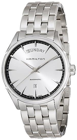 HAMILTON RELOJ DE HOMBRE AUTOMÁTICO 42MM CORREA Y CAJA DE ACERO H42565151: Amazon.es: Relojes