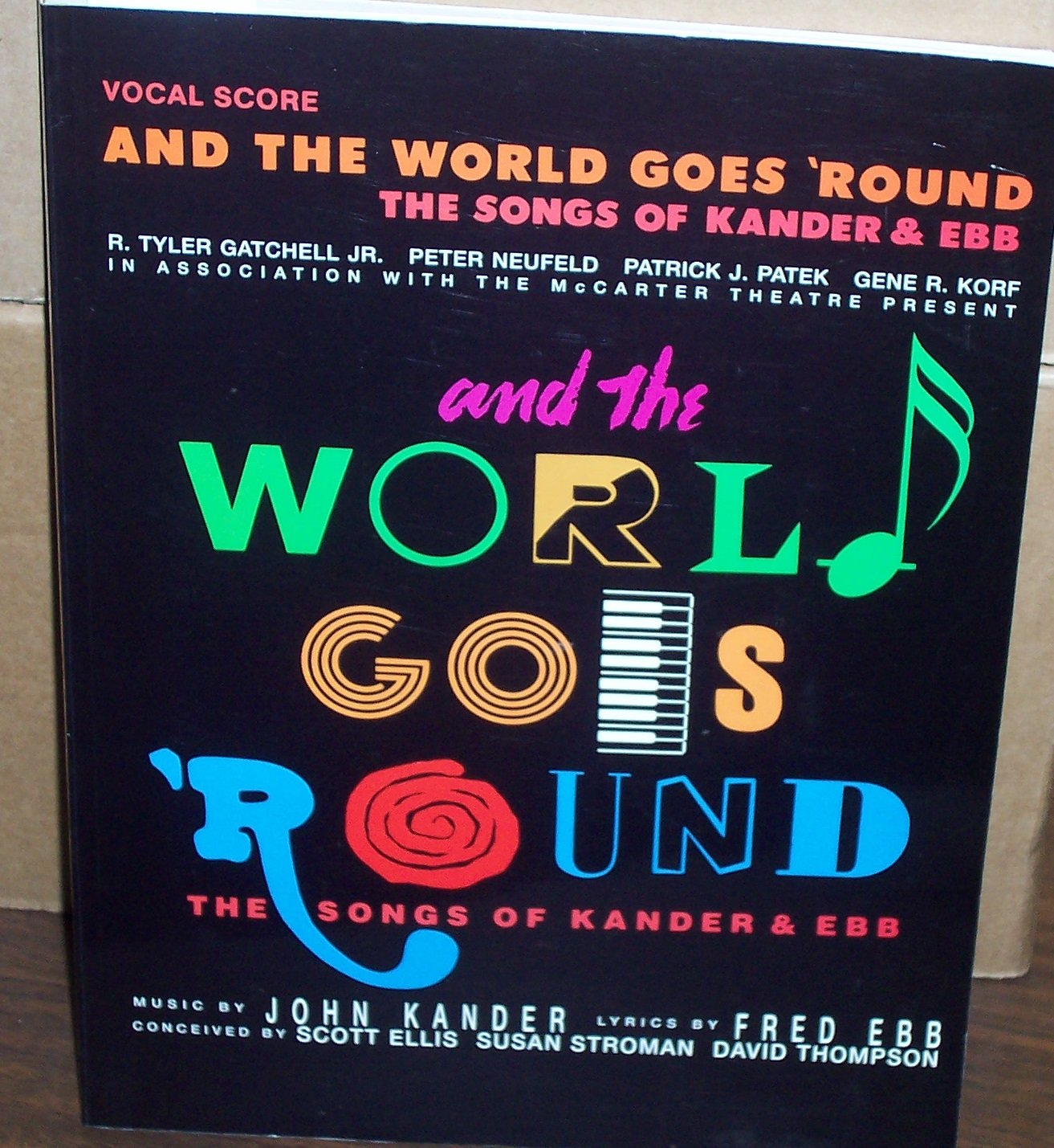 And the World Goes 'Round: The Songs of Kander and Ebb