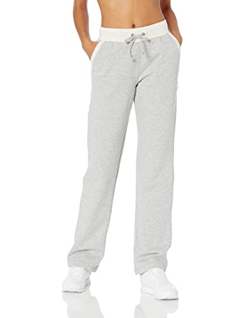 b21fa6016d94 Champion Women s Fleece Open Bottom Pant at Amazon Women s Clothing ...