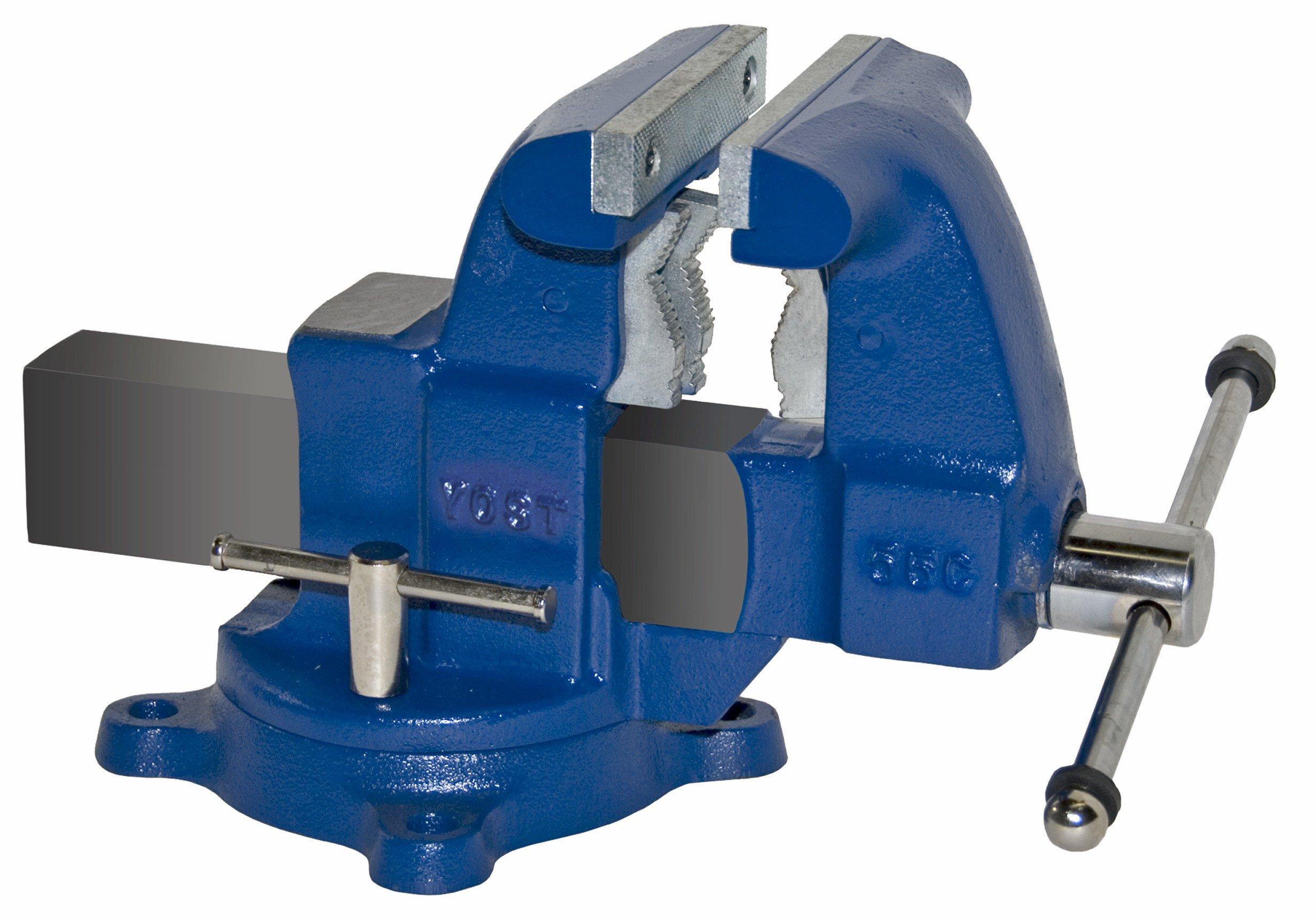 Yost Vises 55C 5.5'' Tradesman Series Industrial Grade Bench Vise by Yost Tools