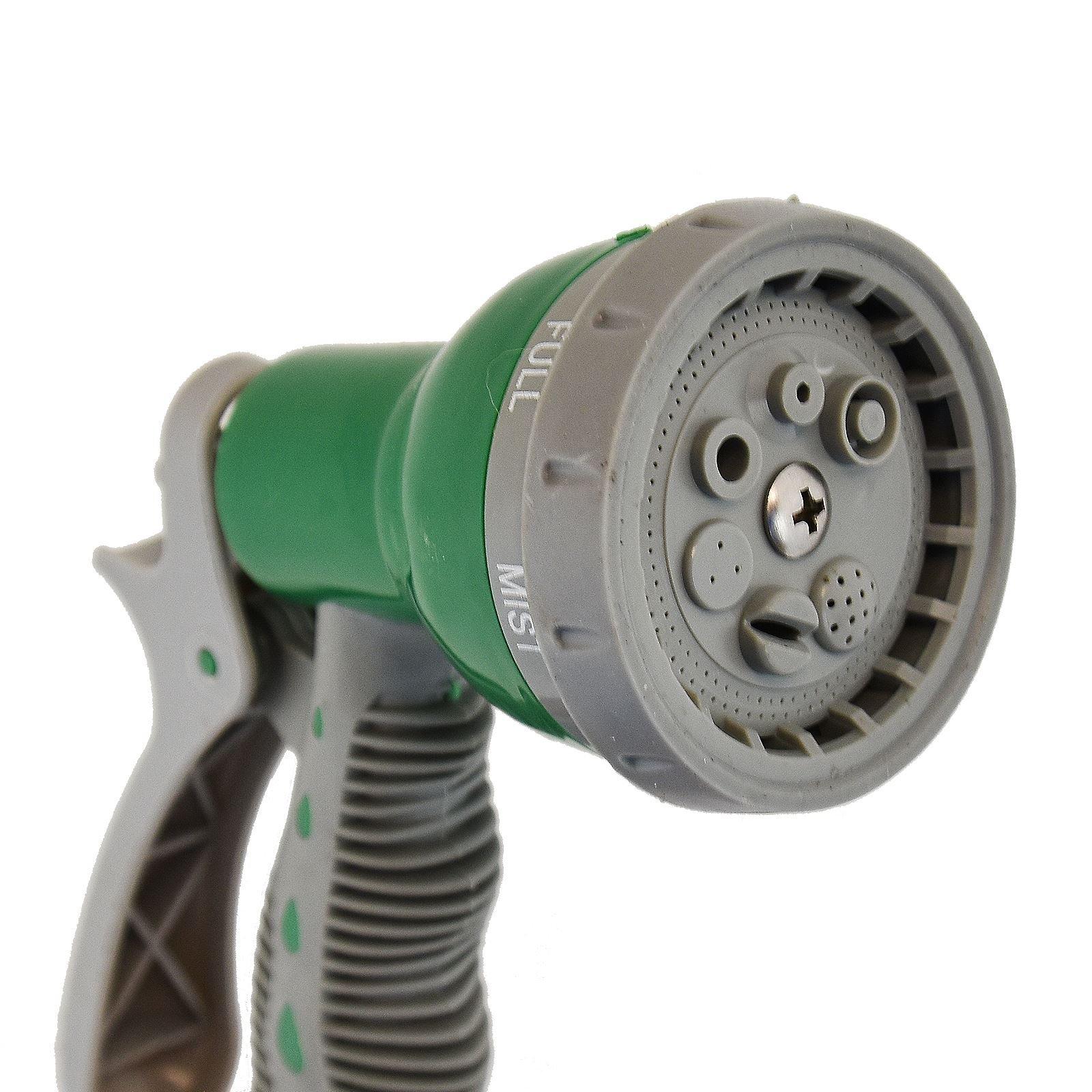 Garden Hose Spray Gun 7 Dial Spray Gun and Fittings Set