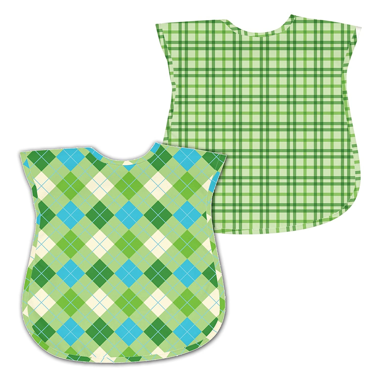 green sprouts 12-24 Months Best Toddler Waterproof Bib, Green, 2 Pack (Discontinued by Manufacturer)