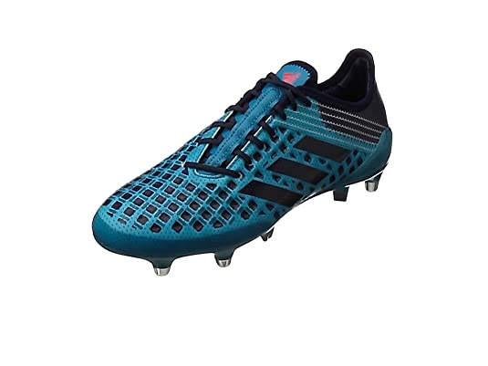 adidas Predator Malice SG, Botas de Rugby para Hombre, Turquesa (Mystery Petrol/