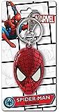 Marvel Men's Spiderman Colored Head Pewter Key Ring