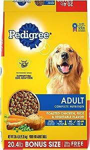 Pedigree Adult Dry Dog Food, Chicken & Steak