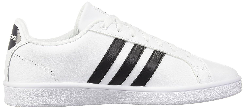 adidas Women's Cf Advantage Sneaker B072R4VQMZ 10.5 B(M) US|White/Black/White