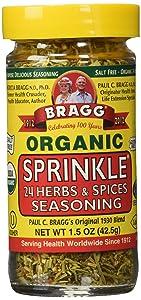 Bragg Organic Sprinkle Seasoning 1.50 Ounces (2 units)